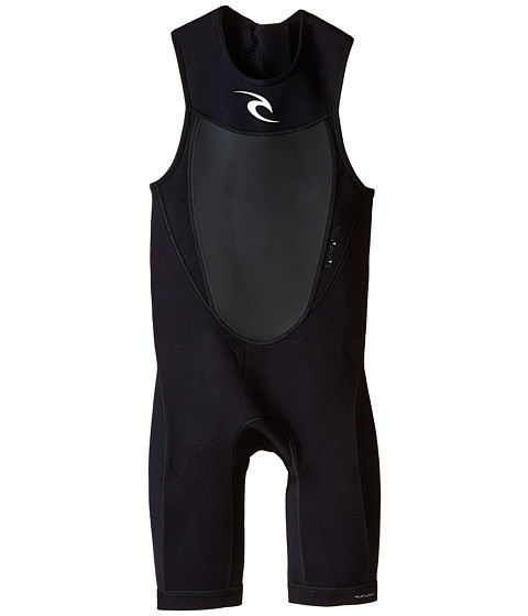 Rip Curl - Dawn Patrol Short John (Black) Men's Wetsuits One Piece