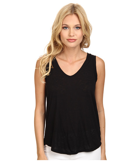 Splendid - Slub Tank Top (Black) Women's Sleeveless