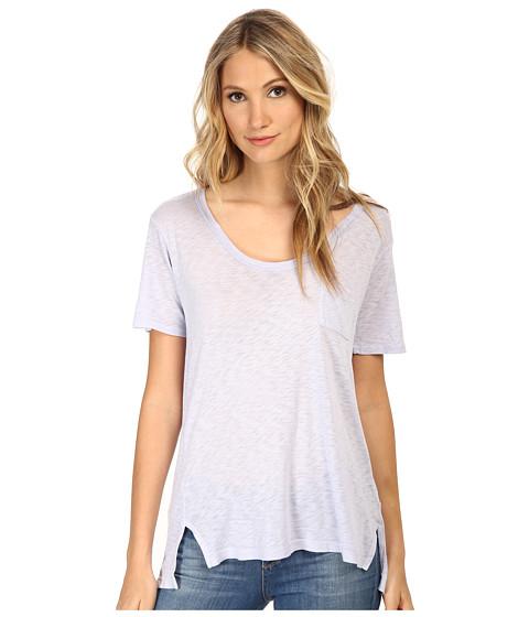Splendid - Slub Tees Tee (Hydrangea) Women's T Shirt