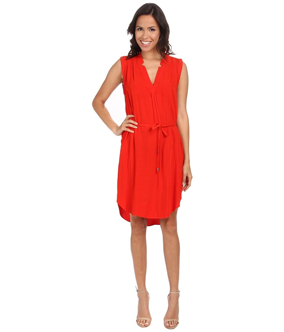 Splendid - Shirtdress (Poppy Red) Women's Dress