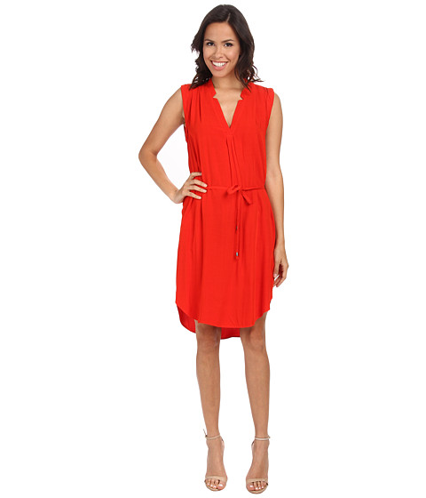 Splendid - Shirtdress (Poppy Red) Women's Dress