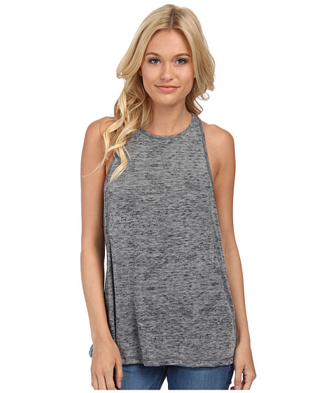 Obey - Slater Tank Top (Charcoal) Women's Sleeveless