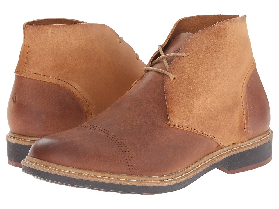 OluKai - Pahoa (Rum/Mustard) Men's Lace-up Boots
