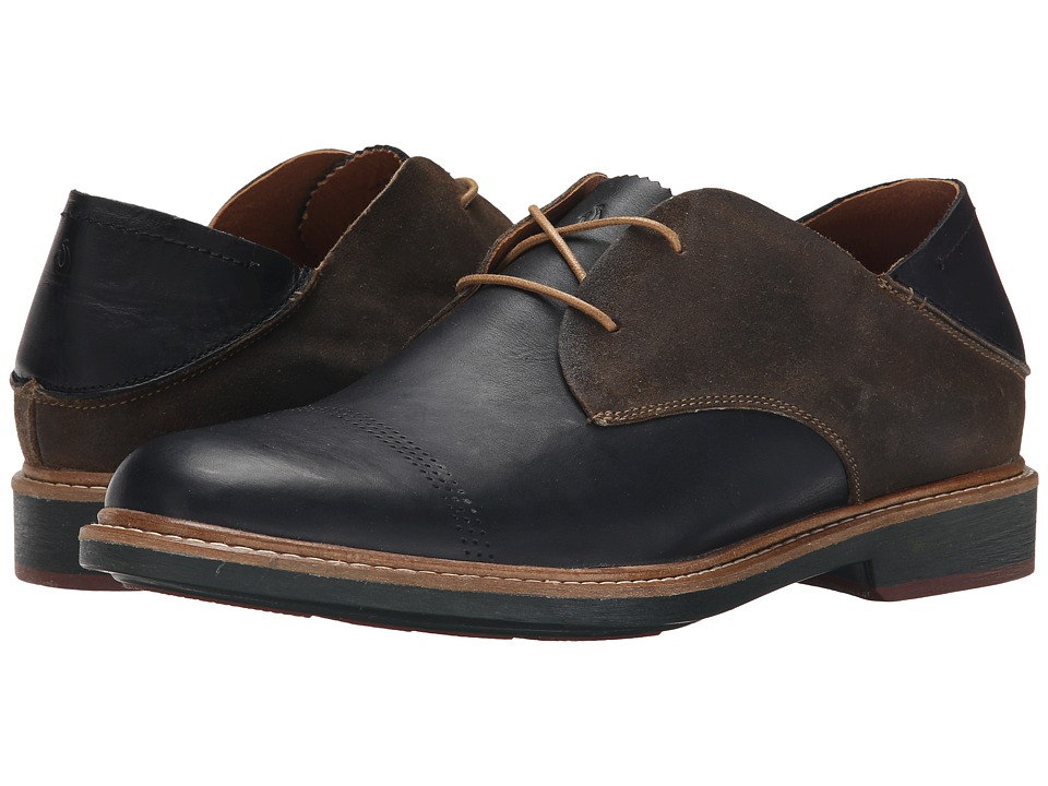 OluKai Walino (Black/Seal Brown) Men