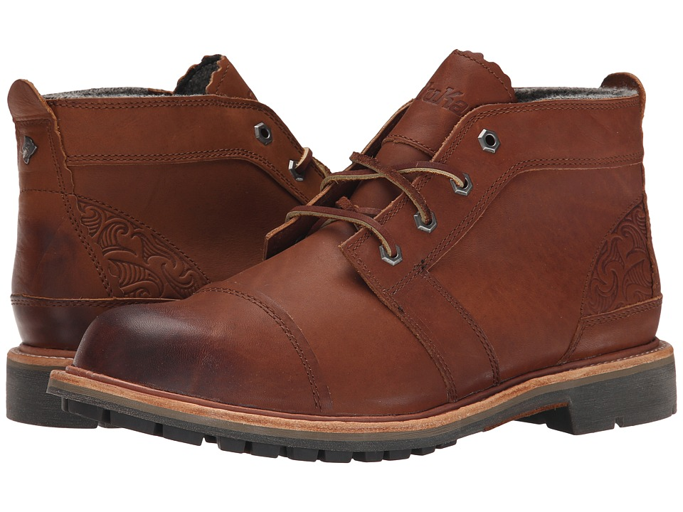 OluKai - Mauna Iki (Rum/Rum) Men's Lace-up Boots