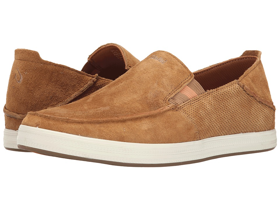 OluKai - Pahono Slip-On (Tobacco/Mustard) Men's Shoes