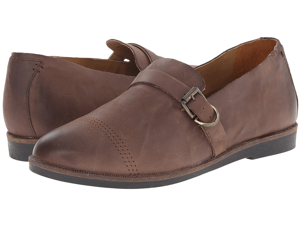 OluKai - Haili (Kona Coffee/Kona Coffee) Women's Slip on Shoes