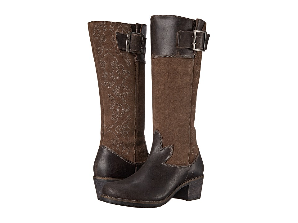 OluKai - Emalani (Dark Shadow/Dark Shadow) Women's Pull-on Boots
