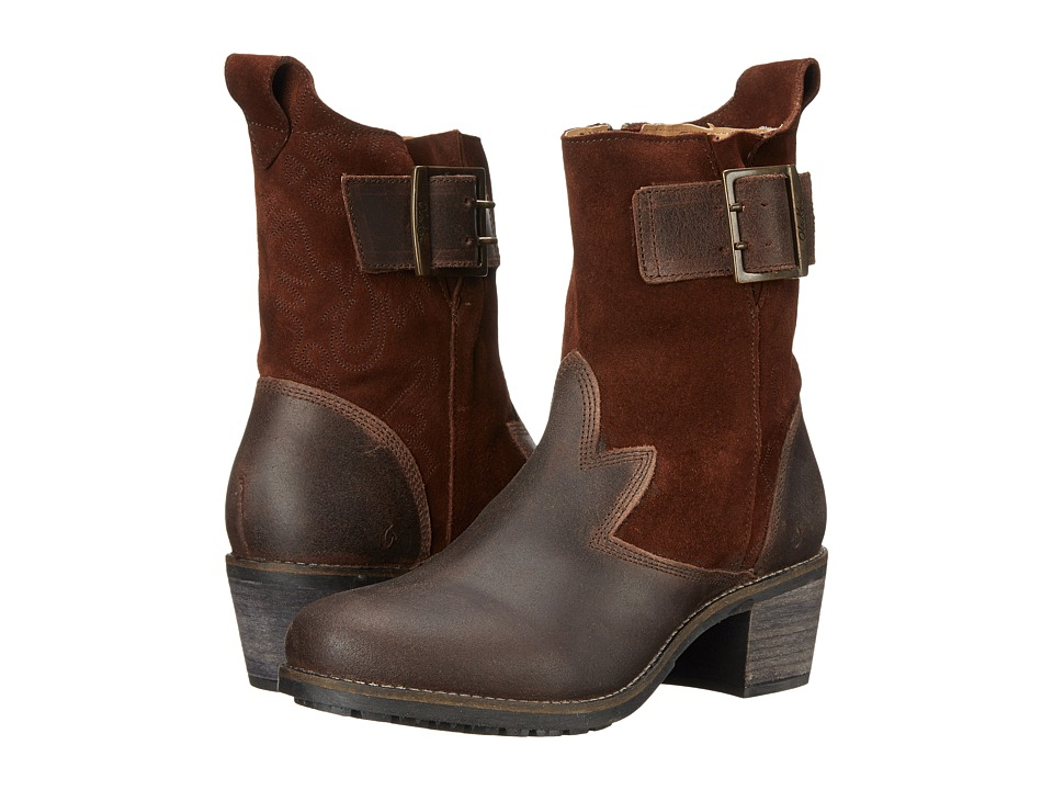 OluKai - Ka'iulani (Kona Coffee/Kona Coffee) Women's Pull-on Boots
