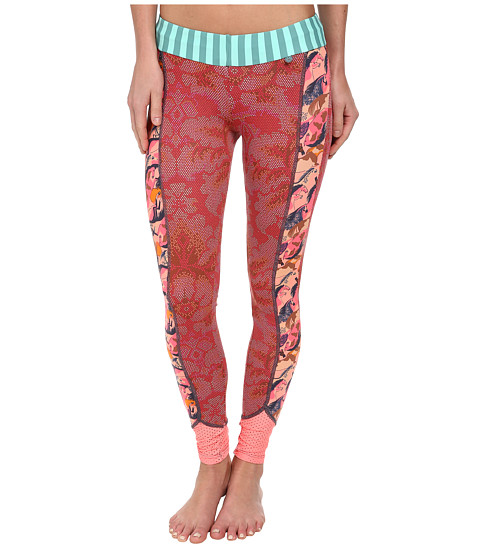 Maaji - Red Rising Ribbons Pants (Multicolor) Women's Clothing