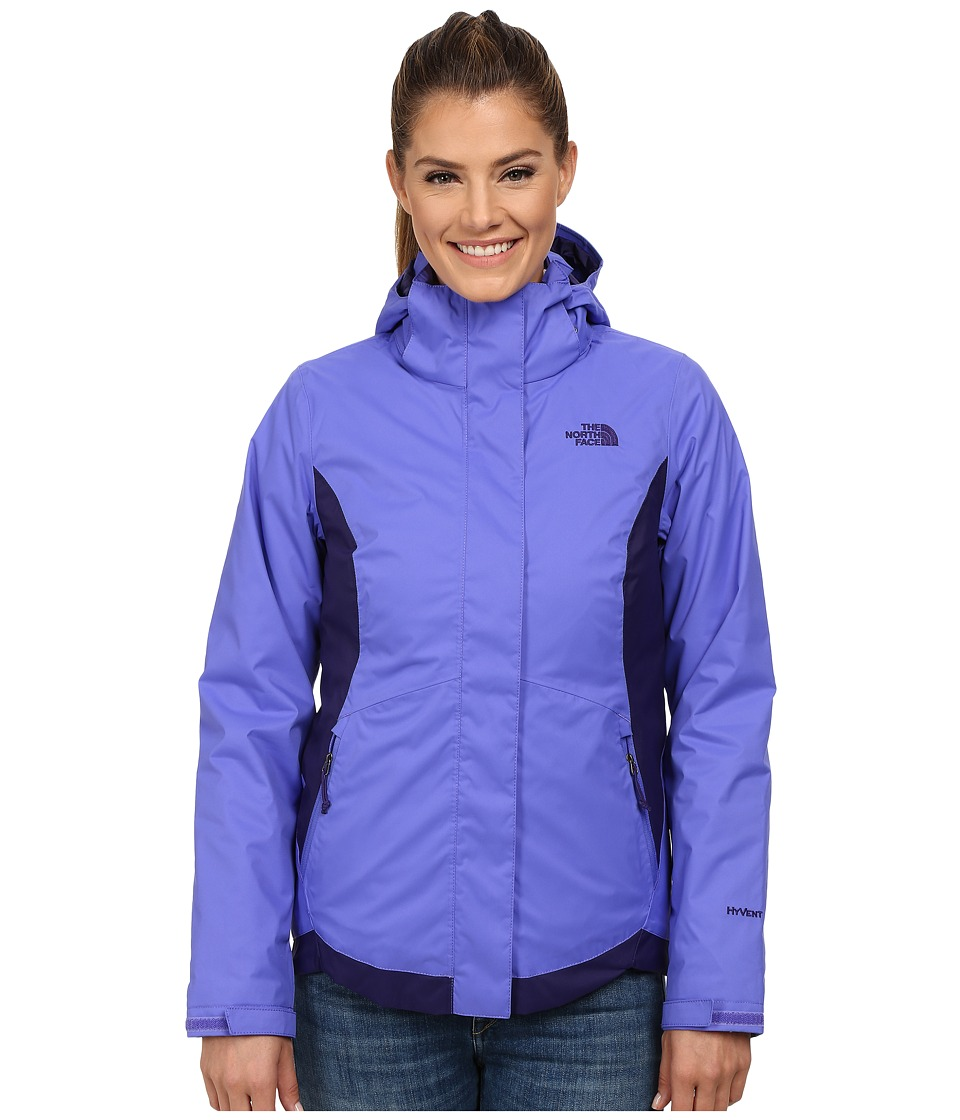 The North Face - Mossbud Swirl Triclimate Jacket (Starry Purple/Garnet Purple) Women