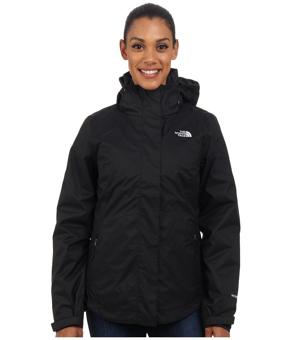 The North Face - Mossbud Swirl Triclimate Jacket (TNF Black/TNF Black) Women's Coat