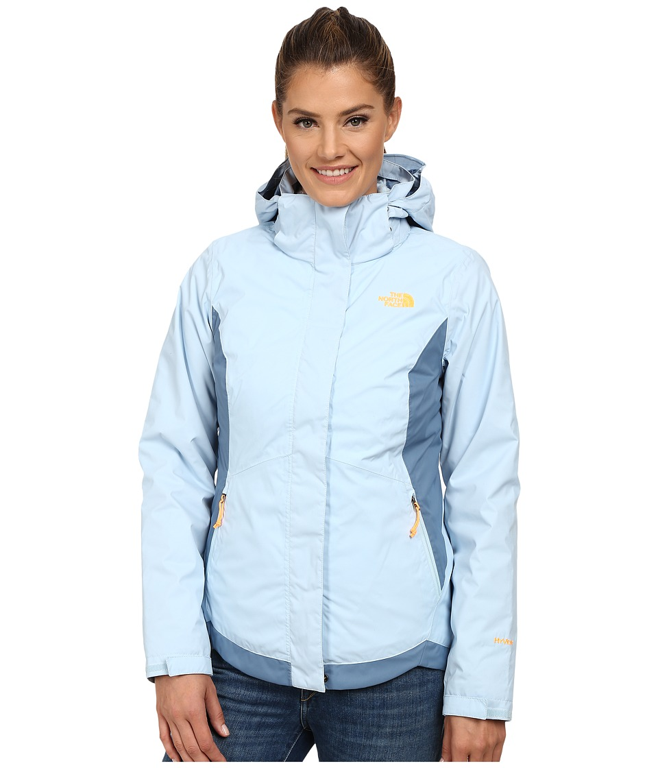 The North Face - Mossbud Swirl Triclimate Jacket (Tofino Blue/Cool Blue) Women's Coat