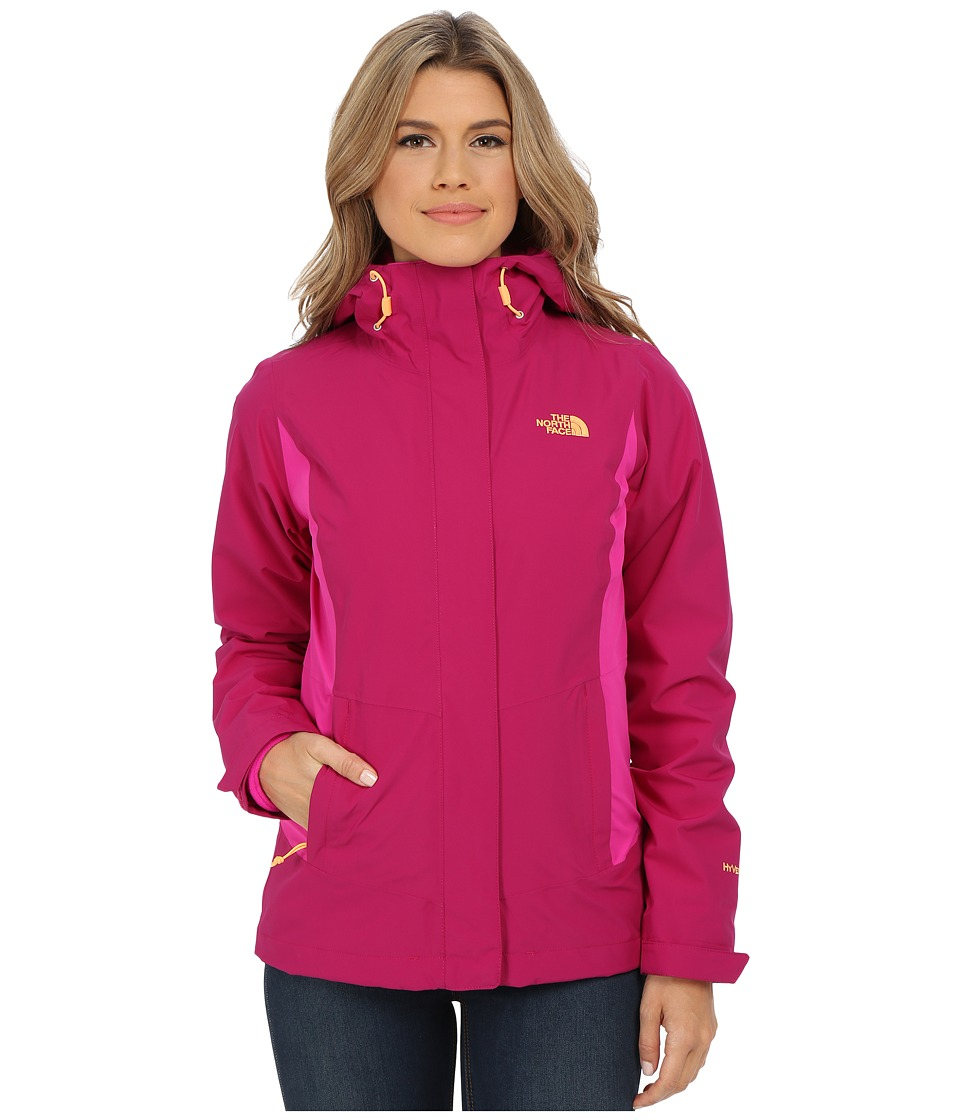 The North Face - Claremont Triclimate Jacket (Dramatic Plum/Luminous Pink) Women