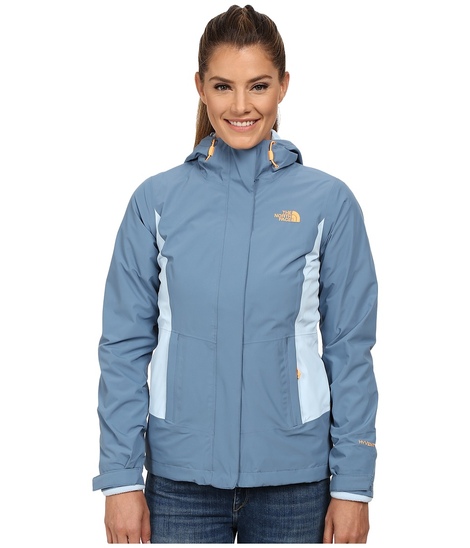The North Face - Claremont Triclimate Jacket (Cool Blue/Tofino Blue) Women's Coat