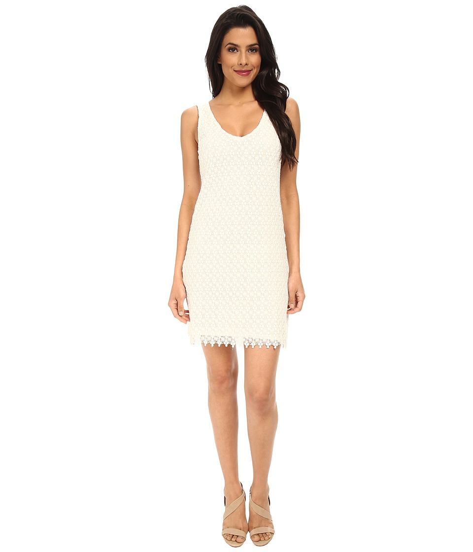 Velvet by Graham & Spencer - Flora Lace Dress (Cream) Women's Dress