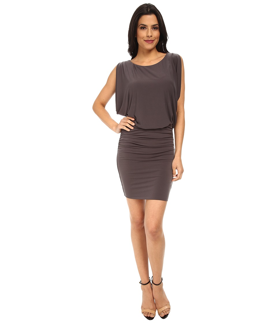 Velvet by Graham & Spencer - Sveta Dress (Charcoal) Women's Dress