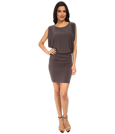 Velvet by Graham & Spencer - Sveta Dress (Charcoal) Women