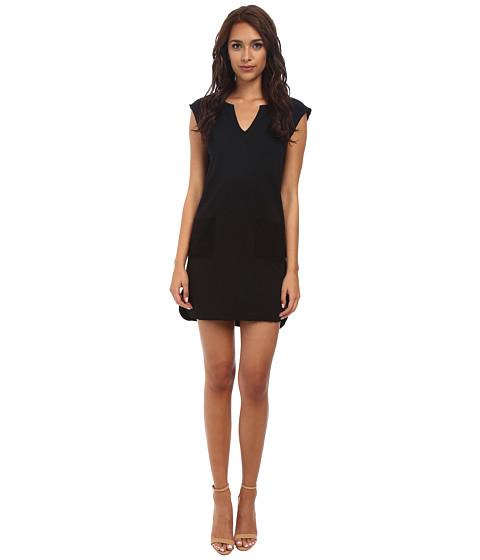 Velvet by Graham & Spencer - Elara Fleece Dress (Black) Women