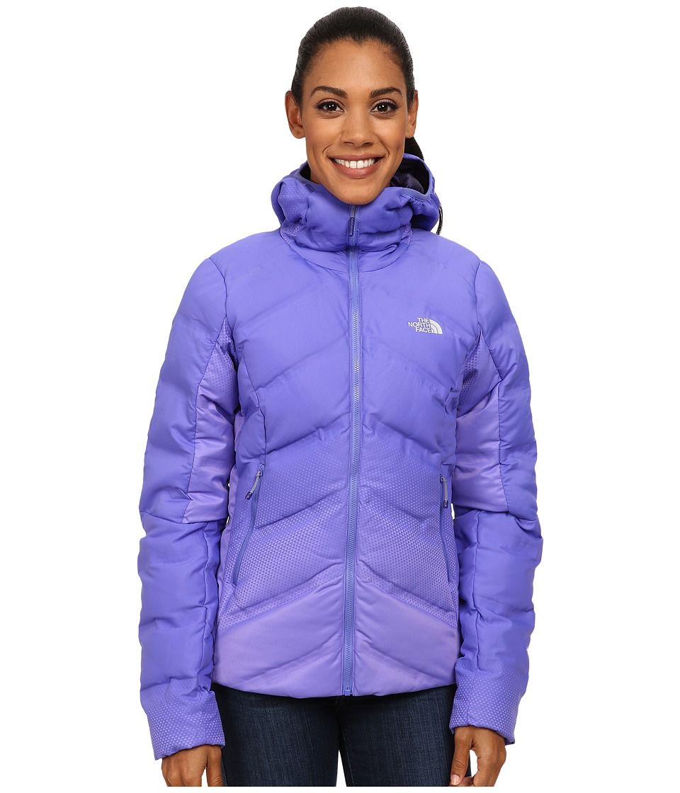 The North Face - FuseForm Dot Matrix Hooded Down Jacket (Starry Purple Tri Matrix) Women