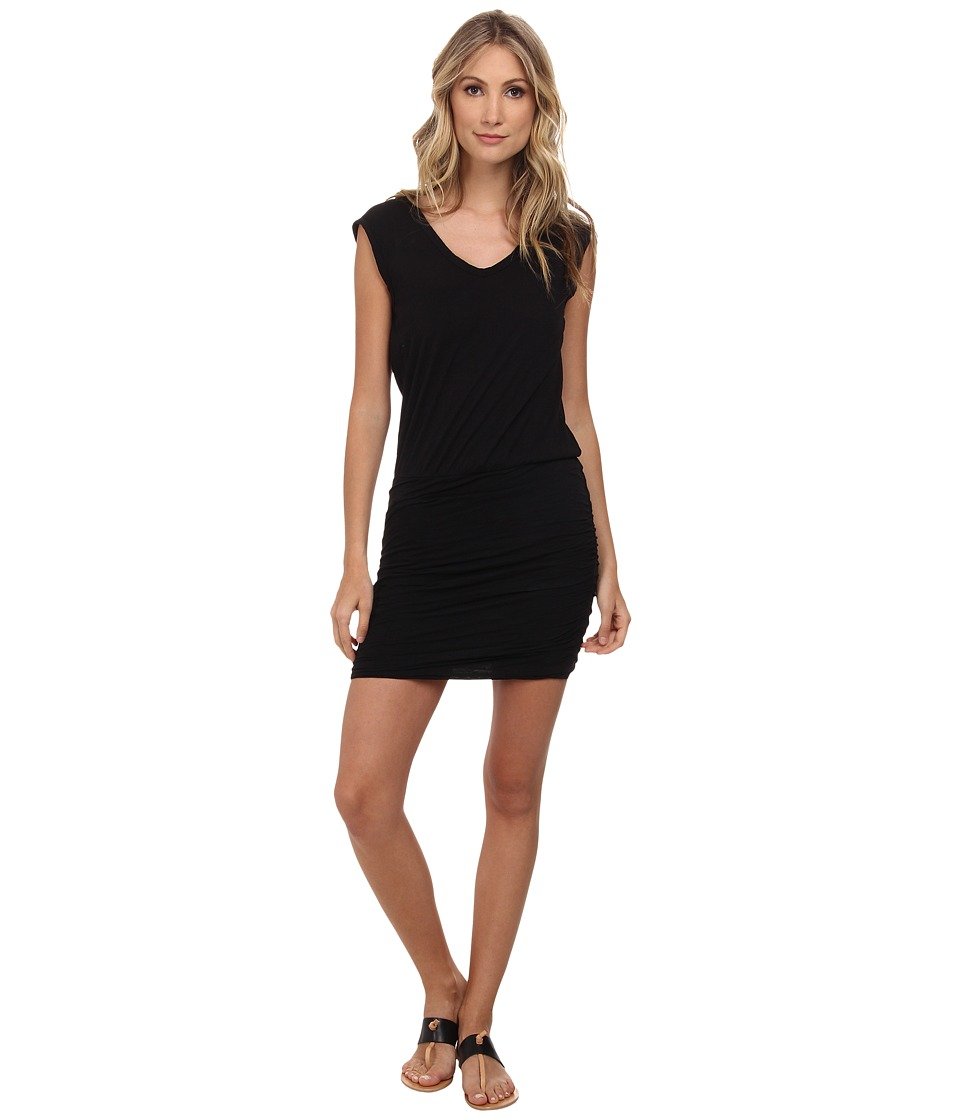 Velvet by Graham & Spencer - Bardot Dress (Black) Women's Dress