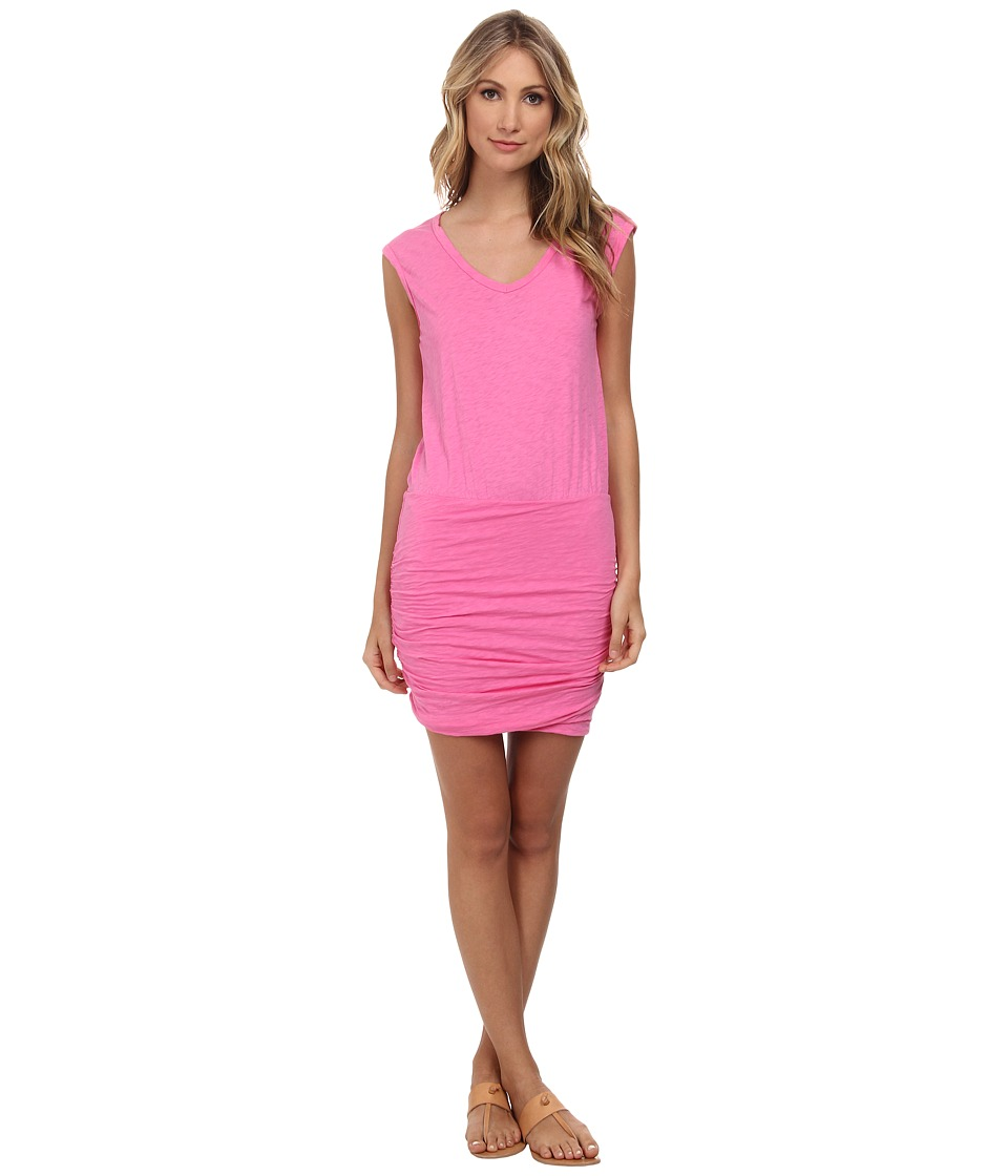 Velvet by Graham & Spencer - Bardot Dress (Pucker) Women's Dress