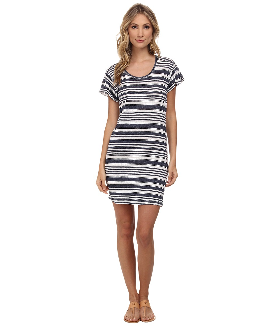 Velvet by Graham & Spencer - Vika Striped Dress (Granite) Women's Dress