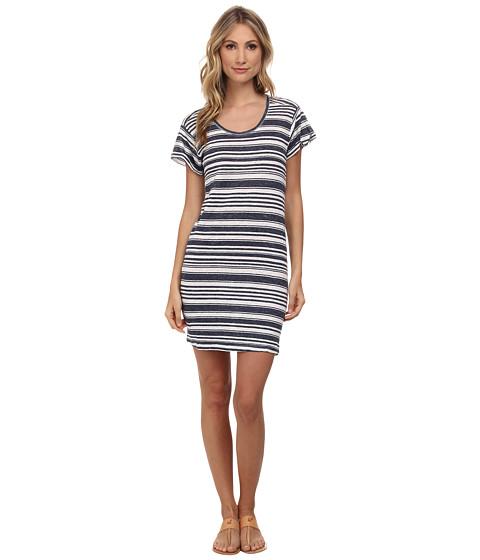 Velvet by Graham & Spencer - Vika Striped Dress (Granite) Women