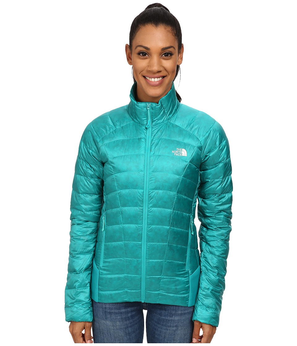 The North Face - Quince Jacket (Kokomo Green) Women's Coat