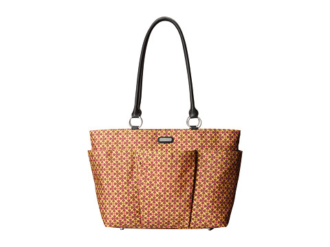 Baggallini - A La Carte Bagg (Floral Geo Print In Kiwi) Tote Handbags