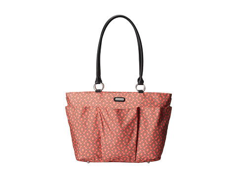 Baggallini - A La Carte Bagg (Trellis Print In Peach) Tote Handbags