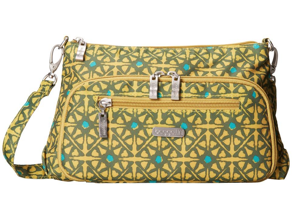 Baggallini - Everyday Bagg (Safari Print In Kiwi) Cross Body Handbags