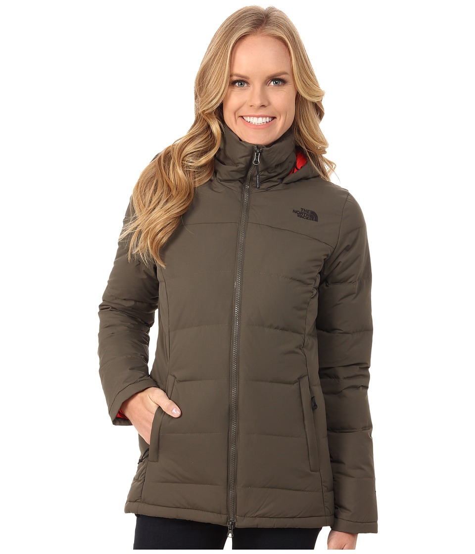 The North Face - Fossil Ridge Parka (New Taupe Green) Women's Coat