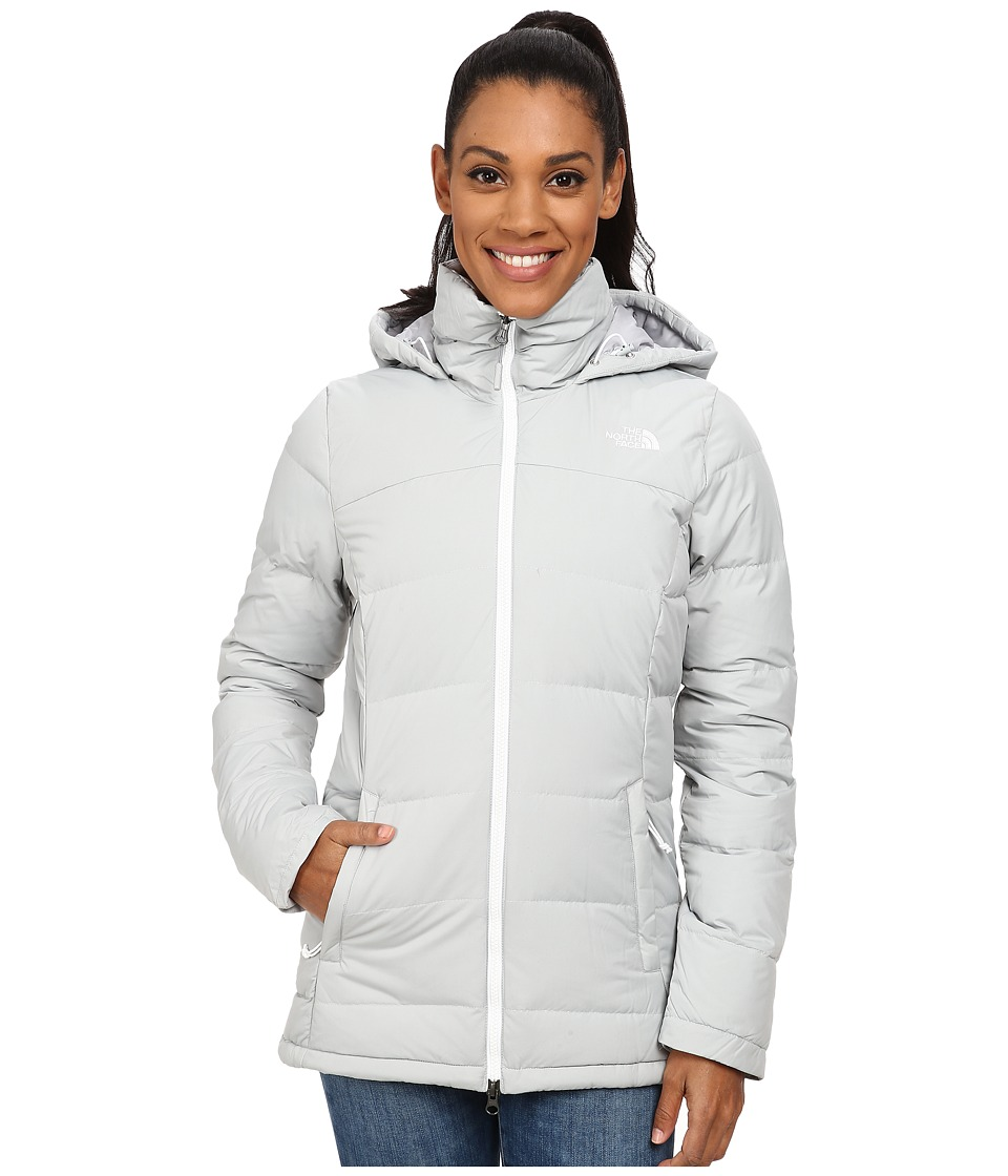 The North Face - Fossil Ridge Parka (High Rise Grey) Women's Coat