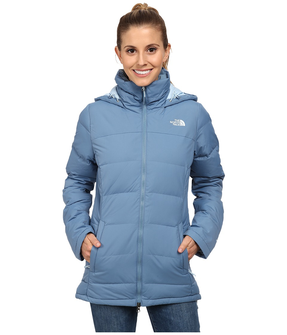 The North Face - Fossil Ridge Parka (Cool Blue) Women's Coat