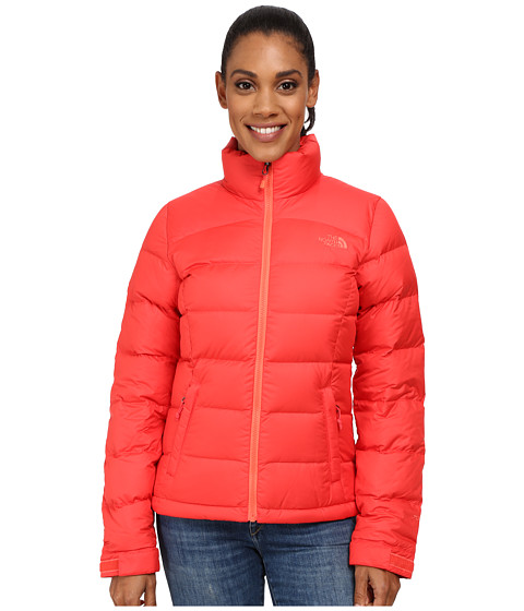 The North Face - Nuptse 2 Jacket (Melon Red) Women's Coat