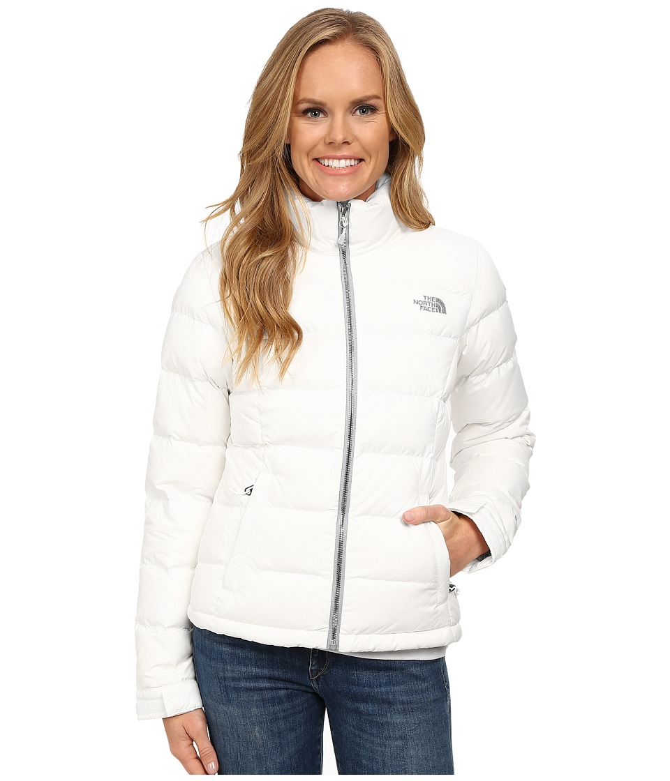 The North Face - Nuptse 2 Jacket (TNF White/TNF White Birch Print) Women's Coat