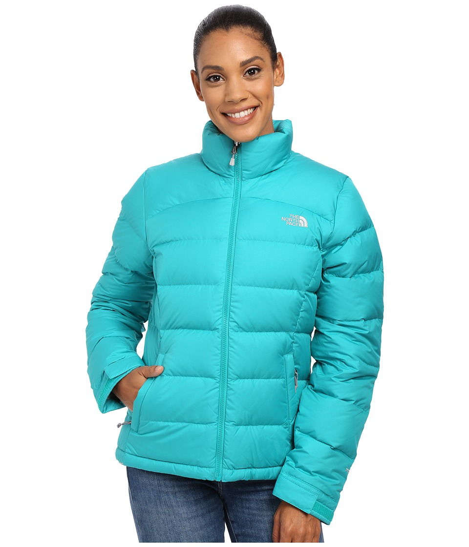 The North Face - Nuptse 2 Jacket (Kokomo Green) Women's Coat