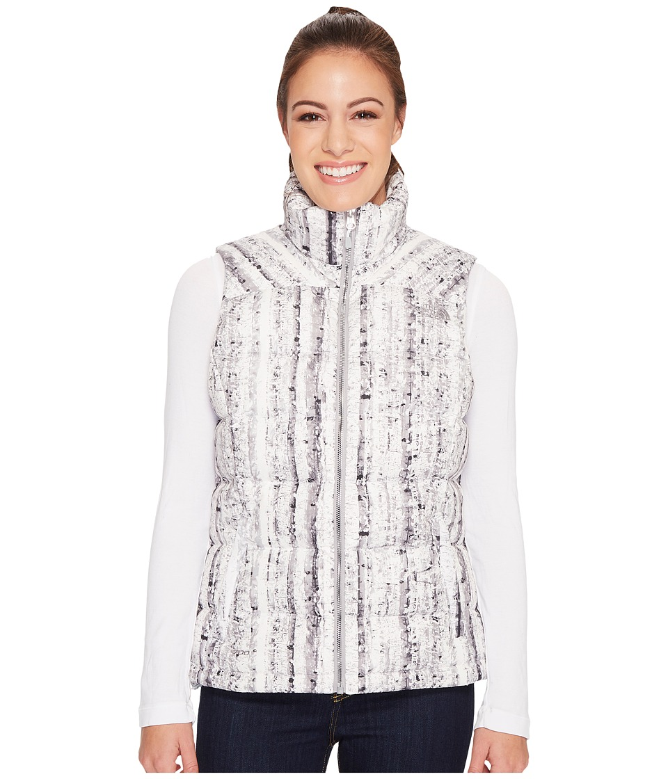 The North Face - Nuptse 2 Vest (TNF White/High Rise Grey) Women's Vest
