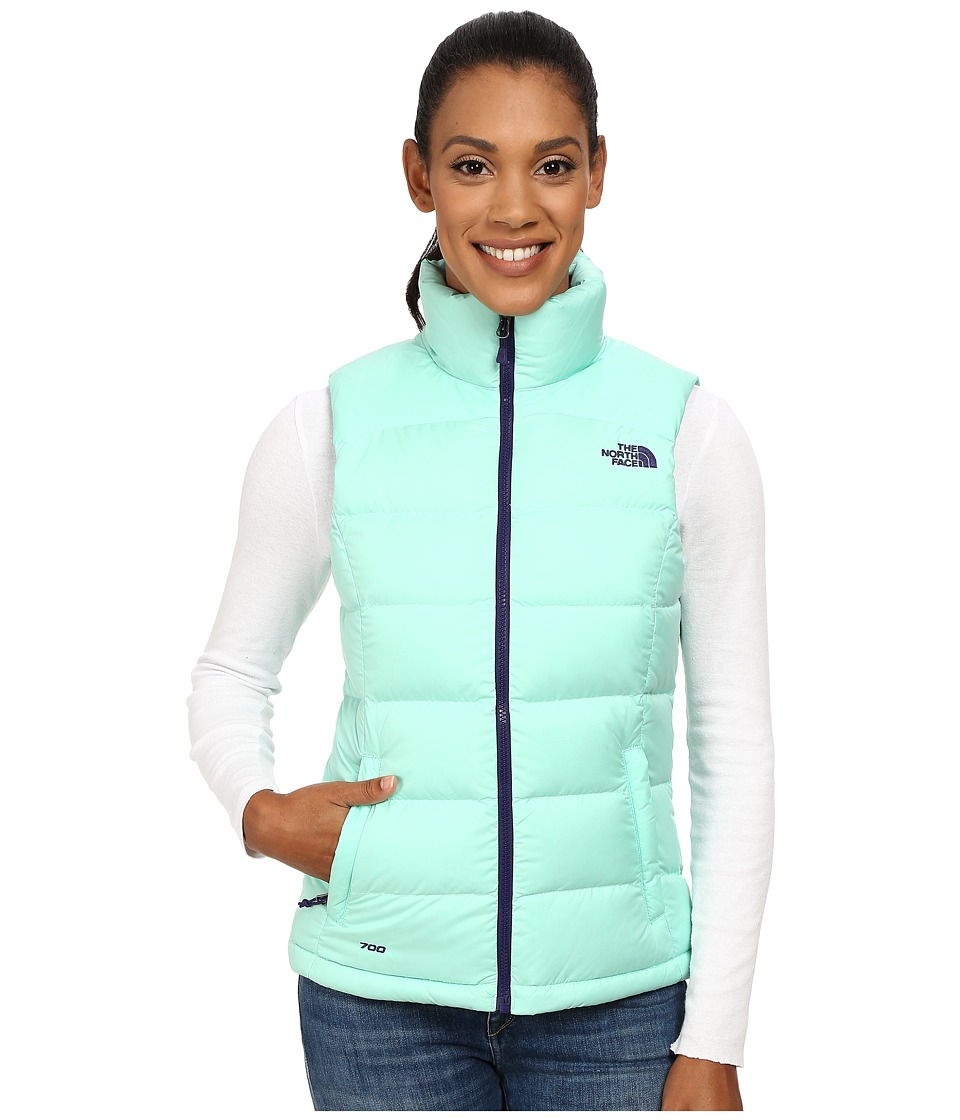 The North Face - Nuptse 2 Vest (Surf Green) Women