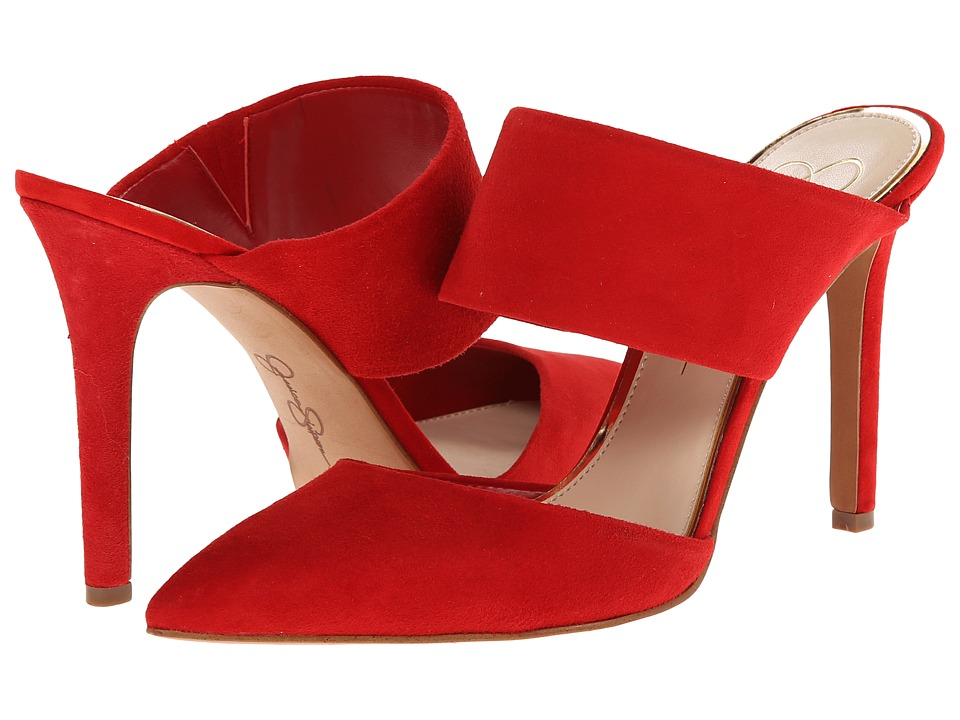 Jessica Simpson - Chandra (Red Muse Lux Kid Suede) High Heels