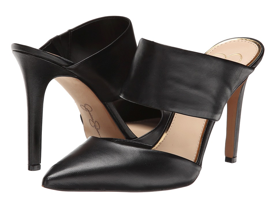 Jessica Simpson - Chandra (Black Soft Nappa Silk) High Heels