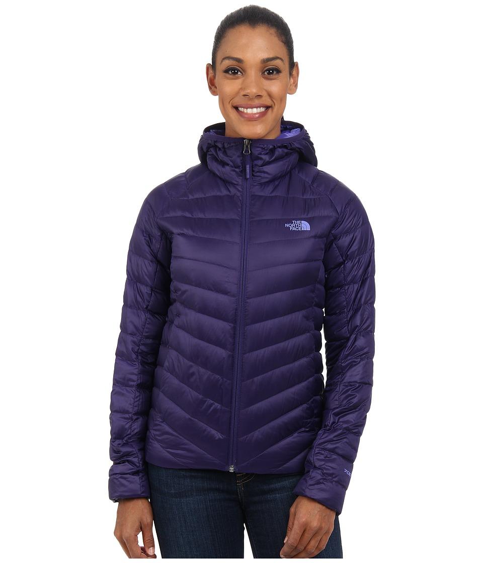 The North Face - Tonnerro Hoodie (Garnet Purple) Women's Coat