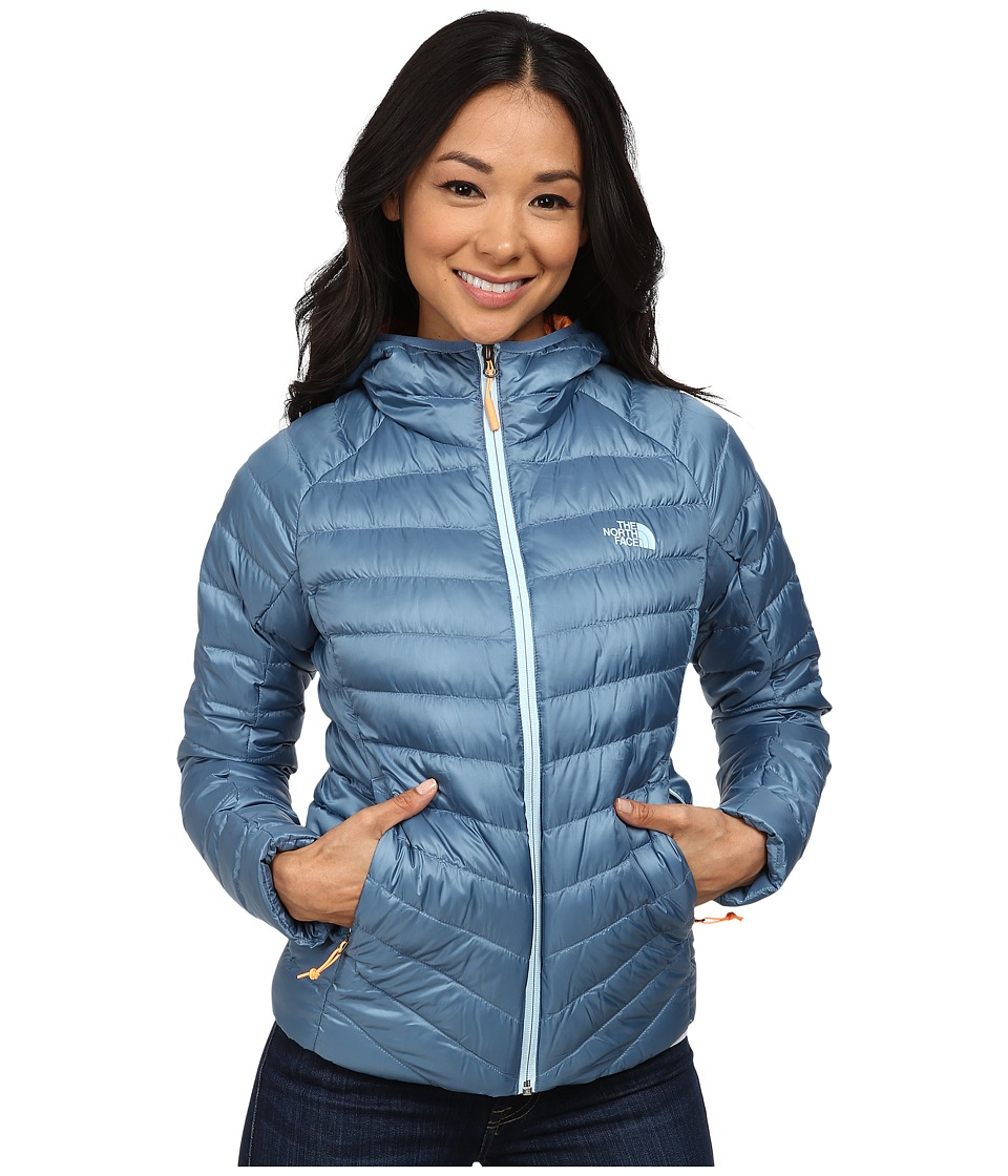 The North Face - Tonnerro Hoodie (Cool Blue) Women's Coat