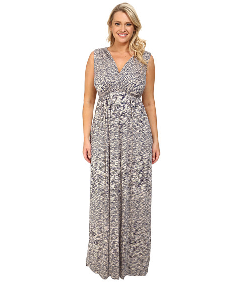 Rachel Pally Plus - Plus Size Morning Dress White Label Print (Astro) Women's Dress