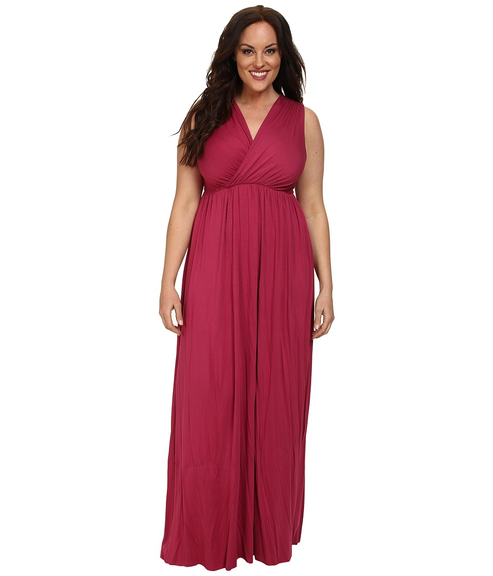 Rachel Pally Plus - Plus Size Morning Dress White Label (Amaryllis) Women's Dress