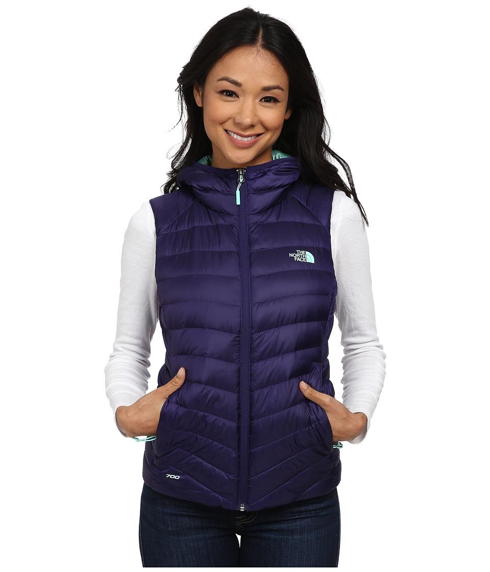 The North Face - Tonnerro Hooded Vest (Garnet Purple) Women's Vest