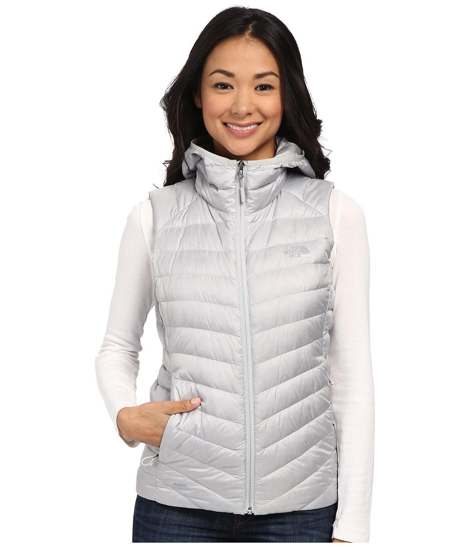 The North Face - Tonnerro Hooded Vest (High Rise Grey) Women's Vest