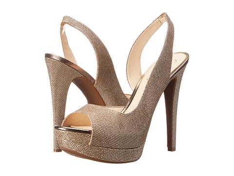 Jessica Simpson - Sabella (Gold Jessica Sparkle Mesh) High Heels