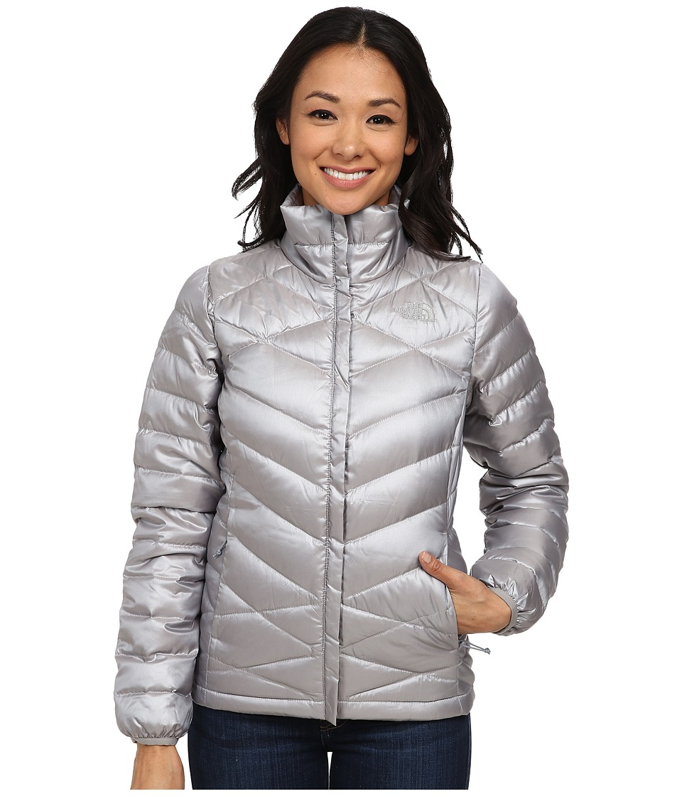 The North Face - Aconcagua Jacket (Metallic Silver) Women's Coat